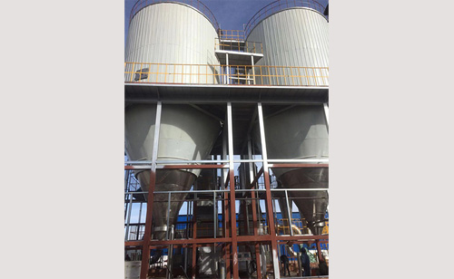 甘肃瑞和祥生物科技有限公司-发酵液喷雾干燥机