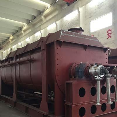 空心桨叶式干燥机